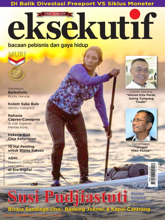 Majalah Eksekutif - edisi 466