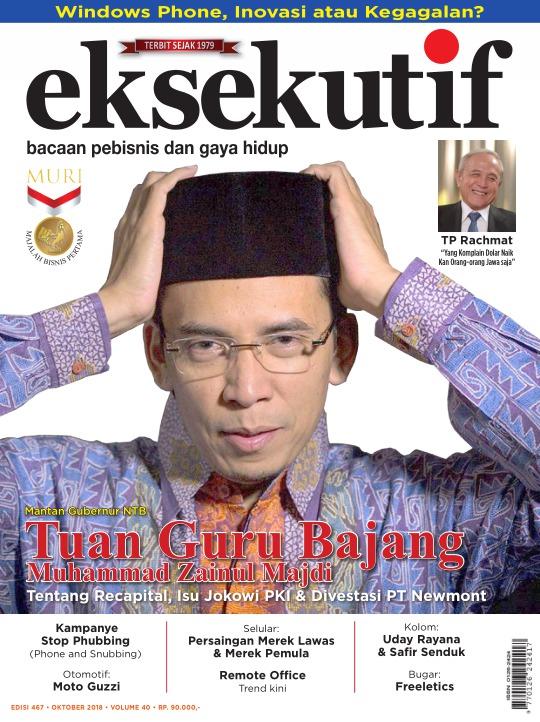 Majalah Eksekutif - edisi 467