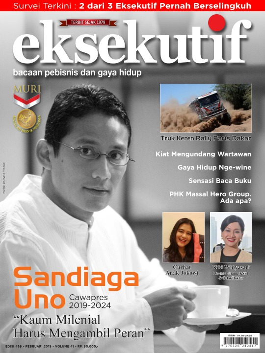 Majalah Eksekutif - edisi 469