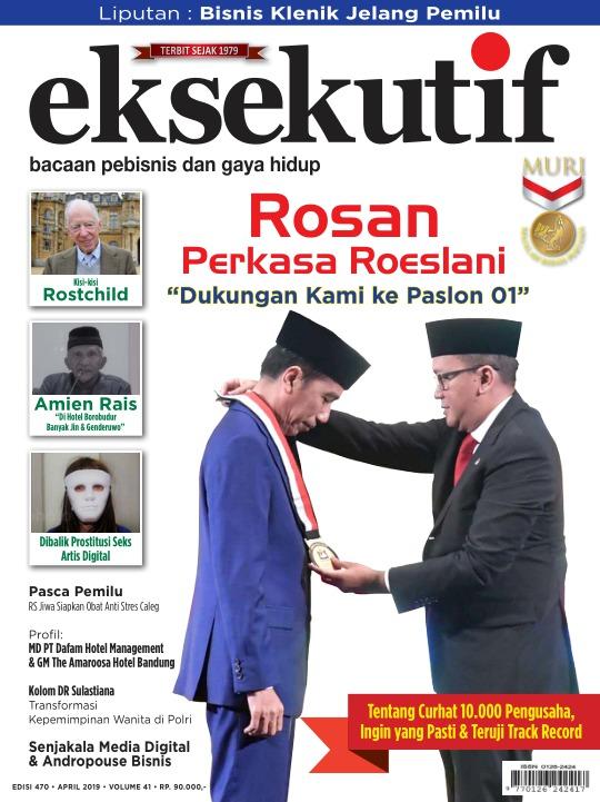 Majalah Eksekutif - edisi 470