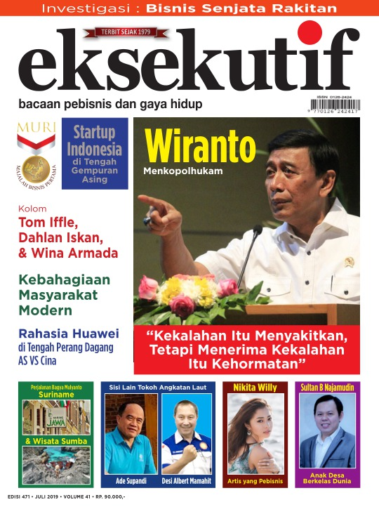 Majalah Eksekutif - edisi 471