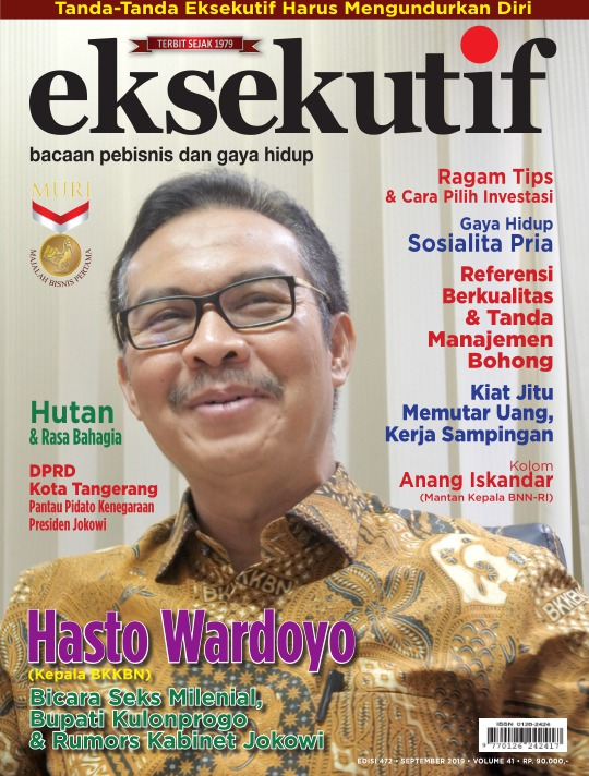 Majalah Eksekutif - edisi 472