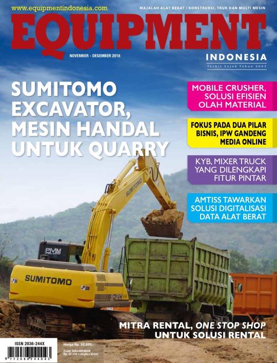 Majalah Equipment Indonesia - edisi 11/2018