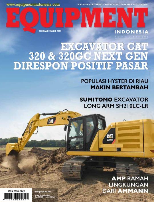 Majalah Equipment Indonesia - edisi Febr - Mart 2019