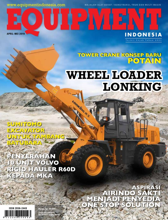 Majalah Equipment Indonesia - edisi April - Mei 2019