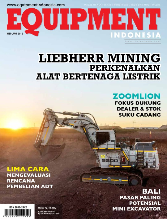 Majalah Equipment Indonesia Edisi Mei-Juni 2019, 14 Mei 2019