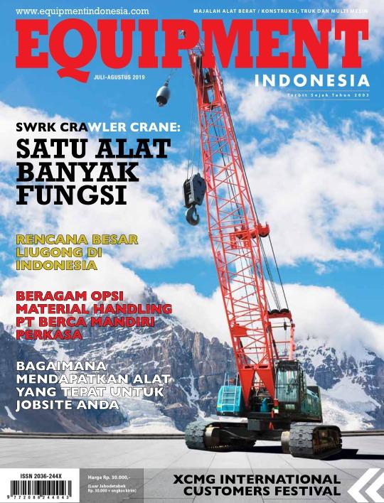 Majalah Equipment Indonesia - edisi Juli - Agustus 2019