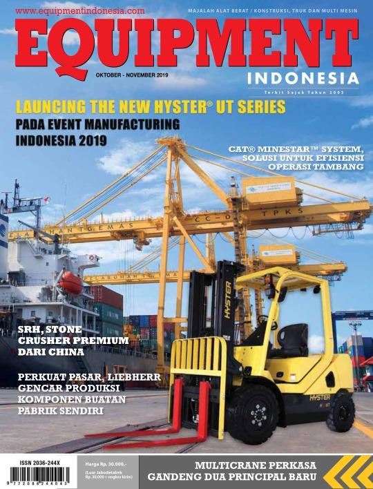 Majalah Equipment Indonesia - edisi Edisi Oktober - November 2019