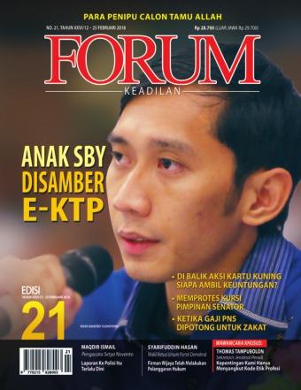 Majalah Forum Keadilan - edisi 21/XXVI