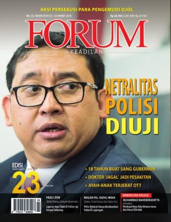 Majalah Forum Keadilan - edisi 23/XXVI