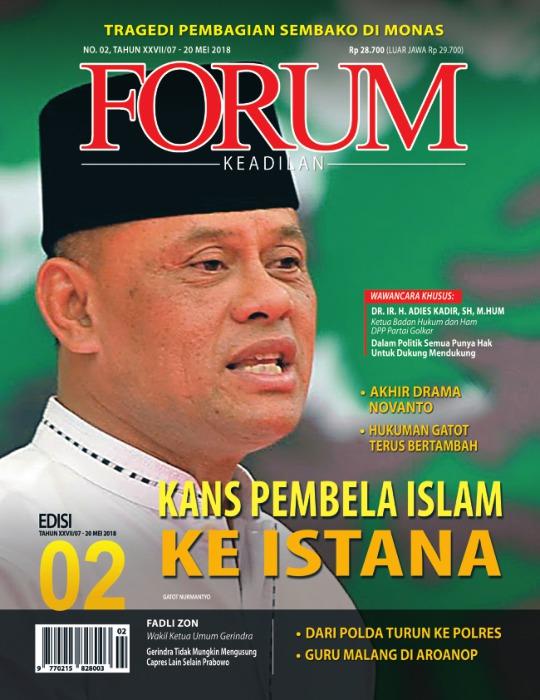 Majalah Forum Keadilan - edisi 02/XXVII