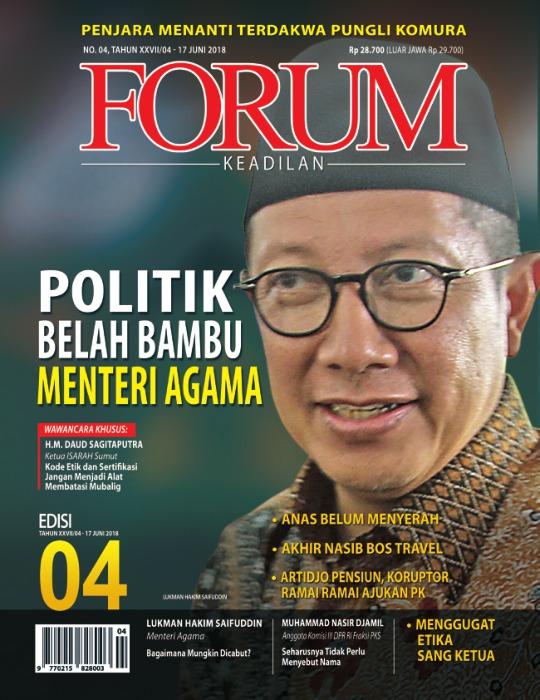 Majalah Forum Keadilan - edisi 04/XXVII