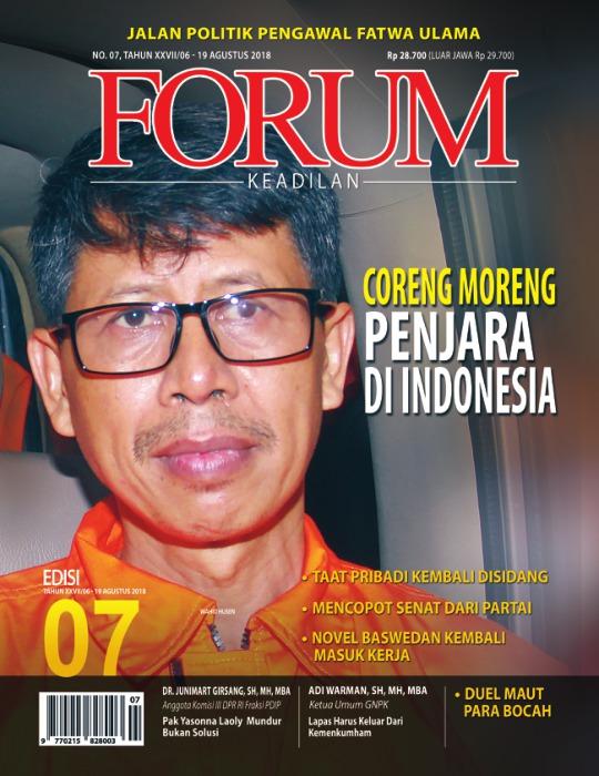 Majalah Forum Keadilan - edisi 07/XXVIII