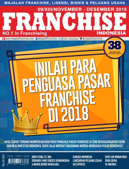 Majalah Franchise Indonesia - edisi 09/XII/November - Desember 018