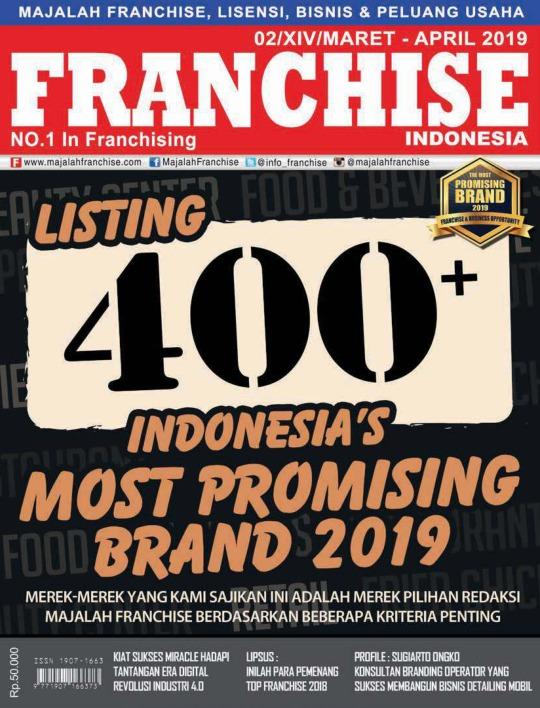 Majalah Franchise Indonesia - edisi 02/XIII/Maret-April2019