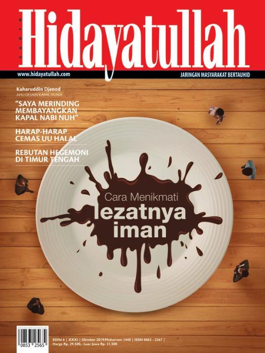 Majalah Hidayatullah - edisi 06/XXXI