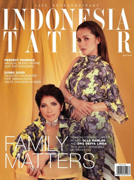 Majalah Indonesia Tatler - edisi 04/2018