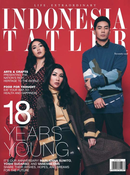 Majalah Indonesia Tatler - edisi 11/2018