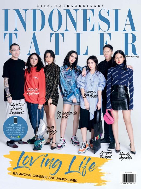 Majalah Indonesia Tatler - edisi 02/2019