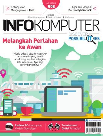 Majalah Infokomputer - edisi 8/2017