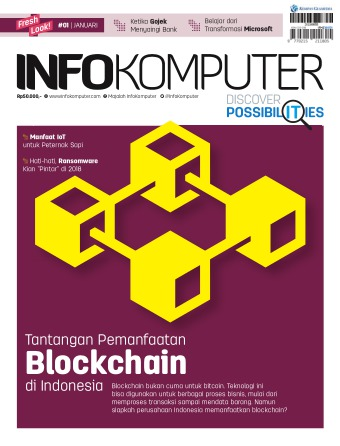 Majalah Infokomputer - edisi 01/2018