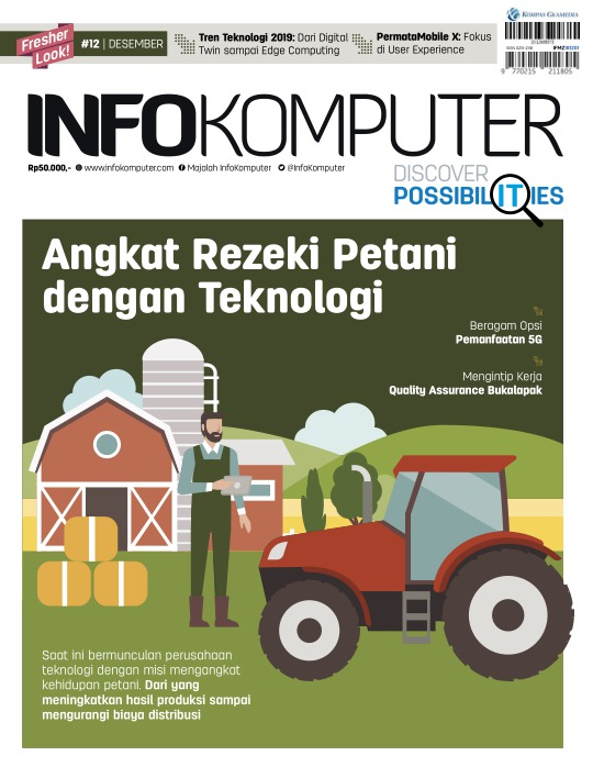 Majalah Infokomputer - edisi 12/2018