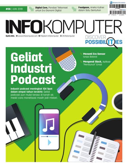 Majalah Infokomputer - edisi 06/2019