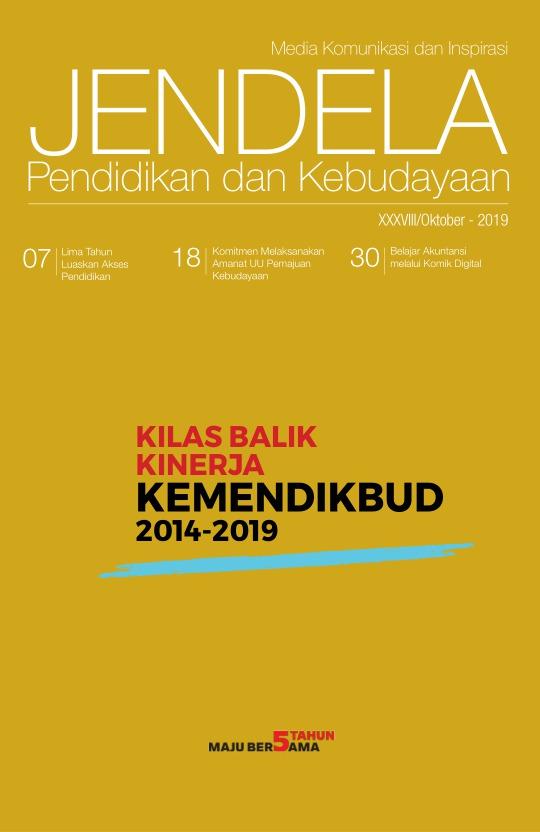 Majalah Jendela - edisi 38/Oktober 2019