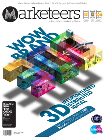 Majalah Marketeers - edisi 03/2018
