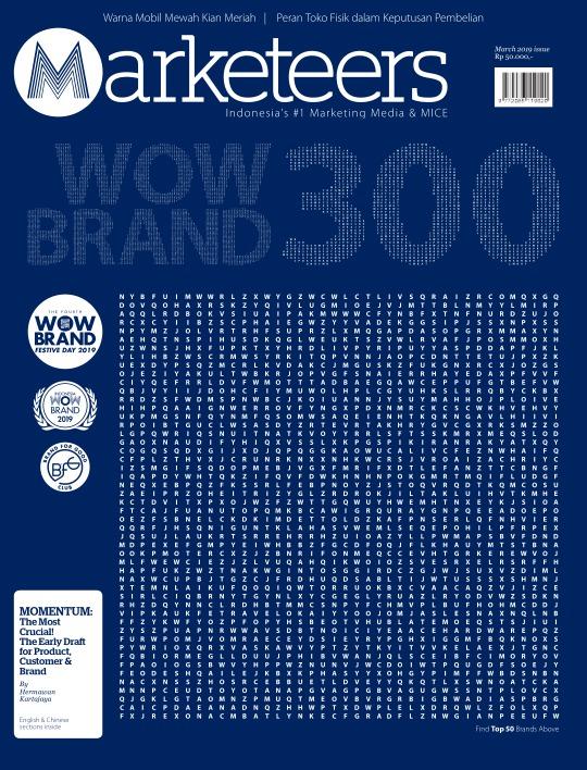 Majalah Marketeers - edisi 03/2019