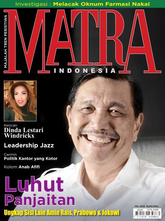Majalah Matra - edisi 0518