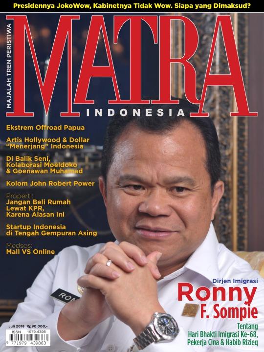 Majalah Matra - edisi 0718
