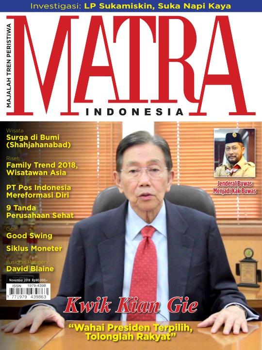 Majalah Matra - edisi 0111