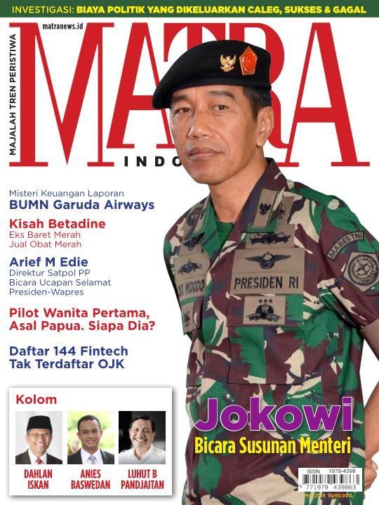 Majalah Matra - edisi 0519