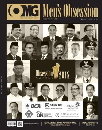 Majalah Mens Obsession - edisi 03/2018