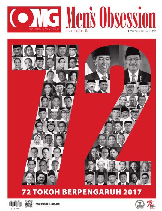 Majalah Mens Obsession - edisi 08/2017