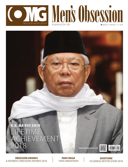 Majalah Mens Obsession - edisi 04/2018