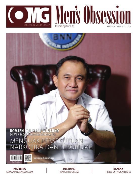 Majalah Mens Obsession - edisi 06/2018