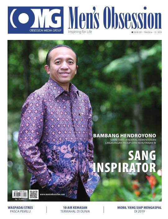 Majalah Mens Obsession - edisi 01/2019