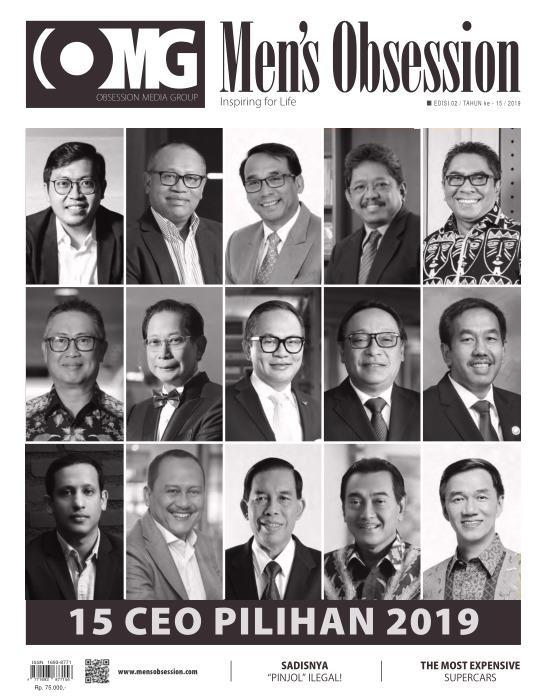 Majalah Mens Obsession - edisi 02/2019