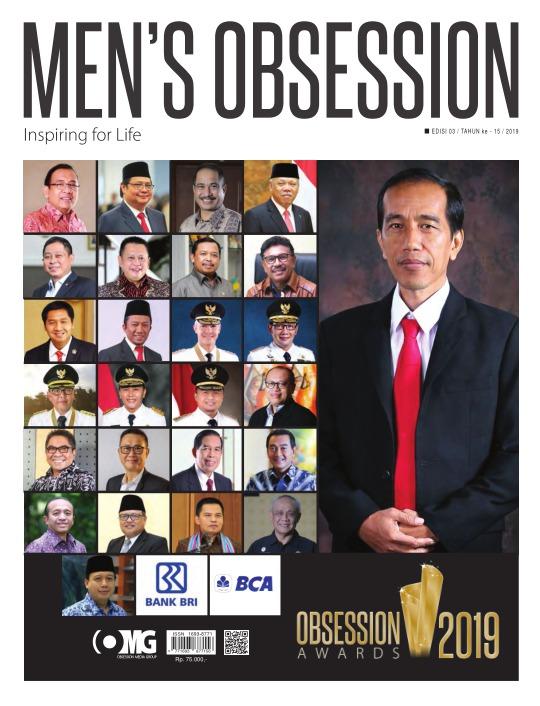 Majalah Mens Obsession - edisi 03/2019