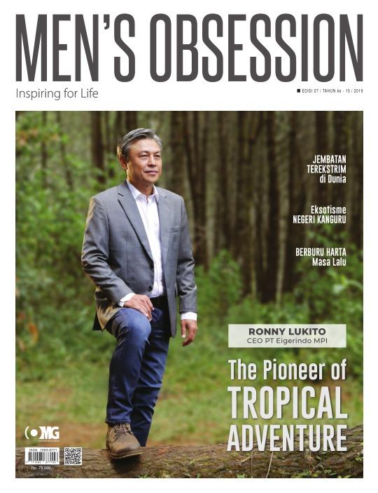 Majalah Mens Obsession - edisi 07/2019