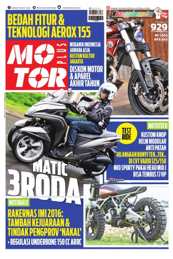 Tabloid Motor Plus - edisi 929