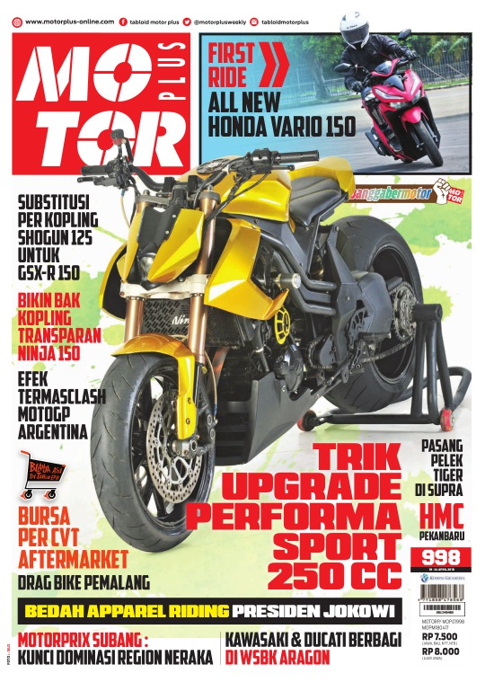 Tabloid Motor Plus - edisi 998