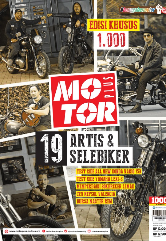Tabloid Motor Plus - edisi 1000