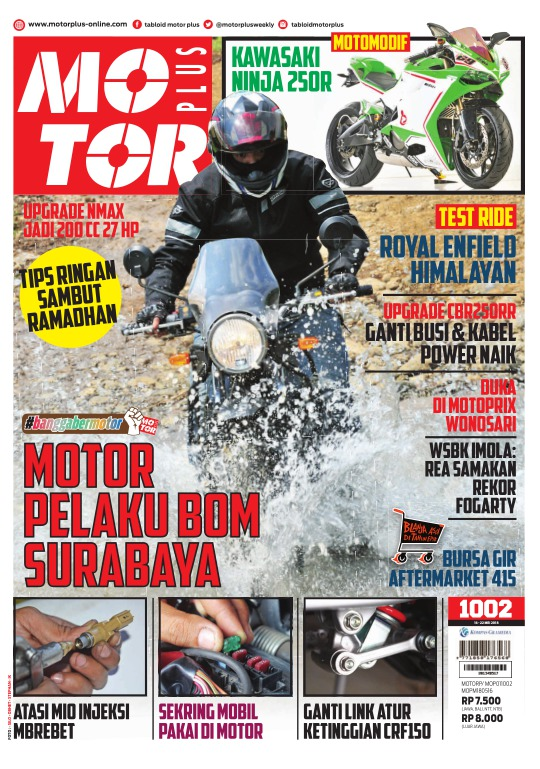 Tabloid Motor Plus - edisi 1002