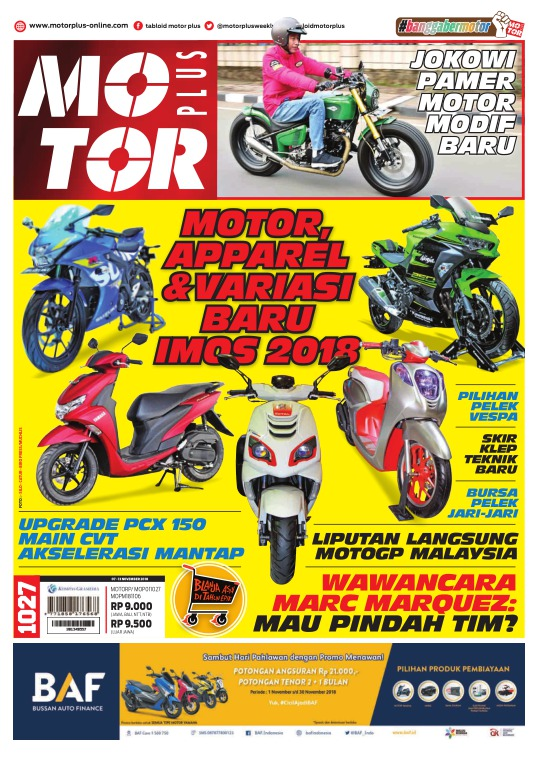 Tabloid Motor Plus - edisi 1027