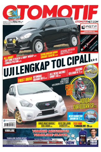 Tabloid OTOMOTIF - edisi 06/XXV