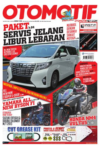 Tabloid OTOMOTIF - edisi 07/XXV