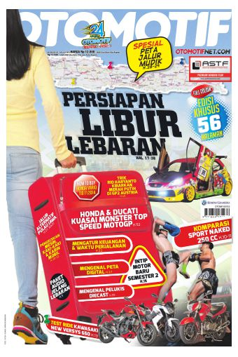 Tabloid OTOMOTIF - edisi 08/XXV